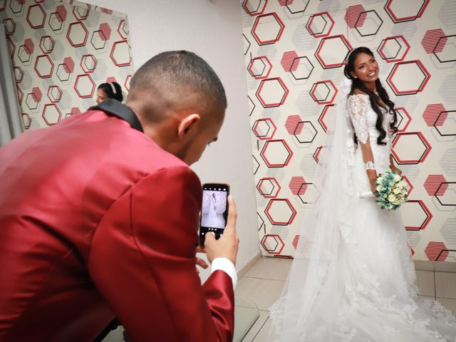 O casamento de Adiel e Marci