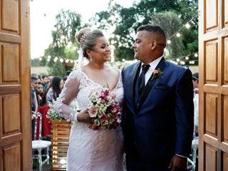 O casamento de Talita e Adriano