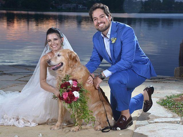 O casamento de Marilia e Watila