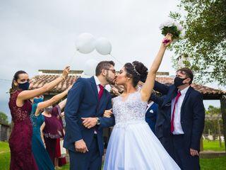 O casamento de Gabrielli e Patrique
