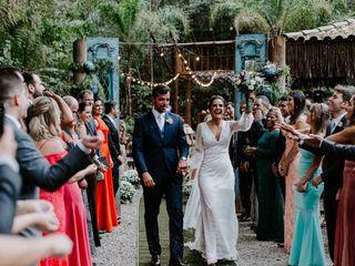 O casamento de Cássia  e André