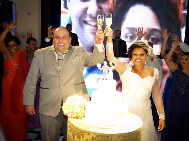 O casamento de Joyce e Fabio
