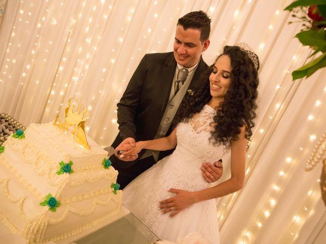 O casamento de Gisele e Fagner