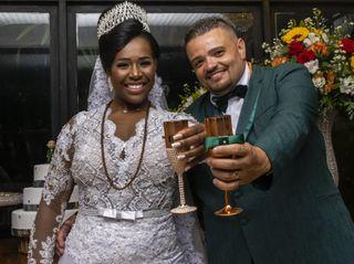 O casamento de Alessandra e Vinicius
