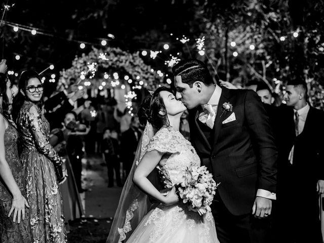 O casamento de Victoria e Miguel