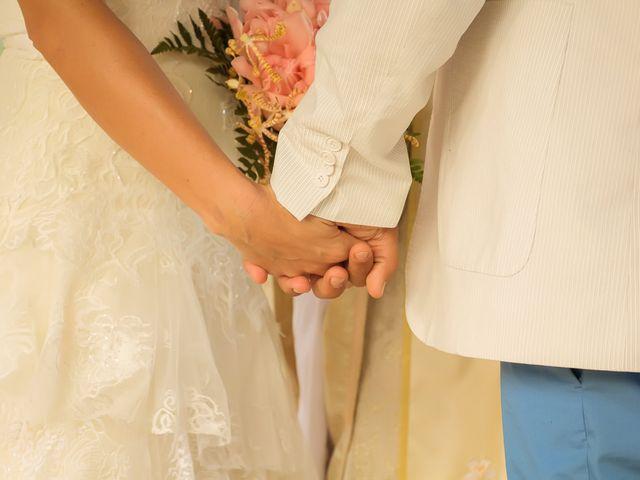 O casamento de Michelle e Orlando