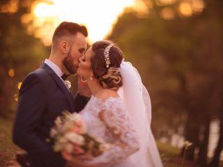 O casamento de Milena e Bruno