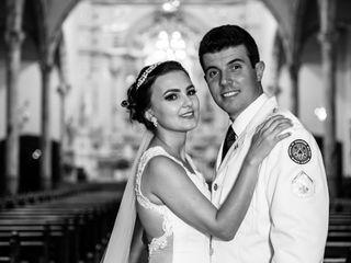 O casamento de Laura e Rodolpho