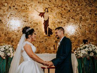 O casamento de Tatiane e Elton