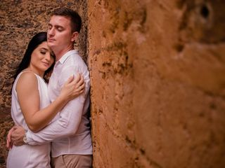 O casamento de Kaynara e Gabriel