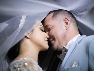 O casamento de Aline e Wesley