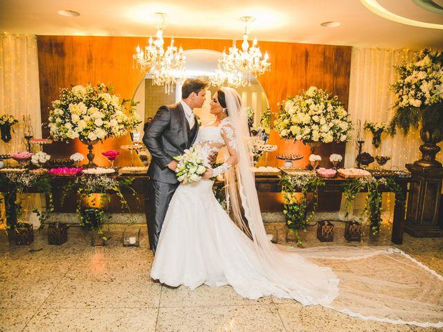 O casamento de Alessandra e Fernando