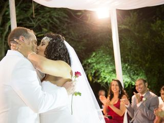 O casamento de Regina e Jeremy