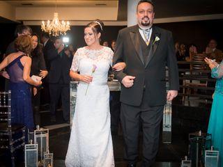 O casamento de Fabiane e Juliano