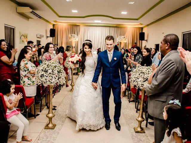 O casamento de Roseane e Mateus