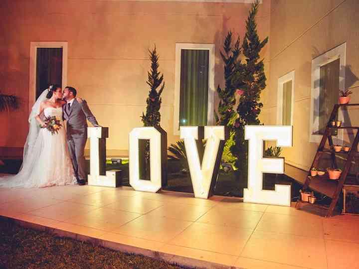 O casamento de Juliana e Junior