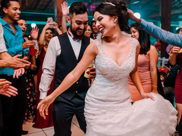 O casamento de Camila e Fernando