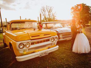 O casamento de Eva e Carlos