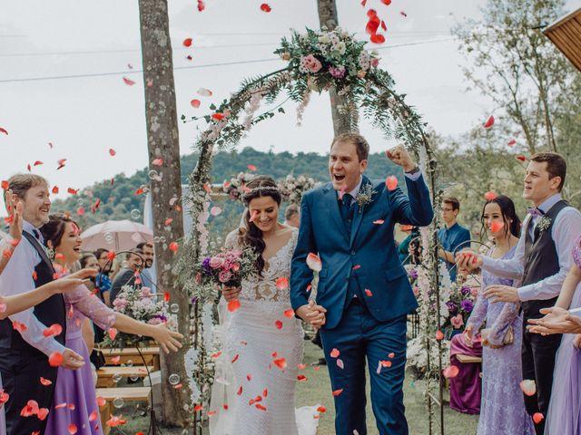 O casamento de Elaine e Régis