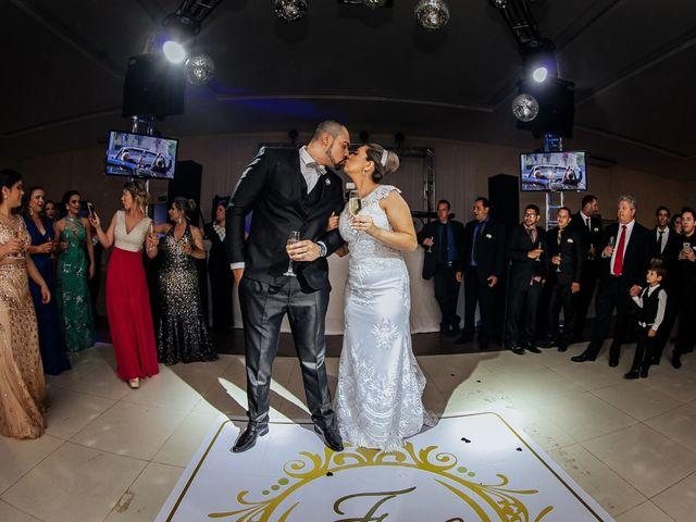 O casamento de Cleiton e Fernanda em Campo do Meio, Minas Gerais 100