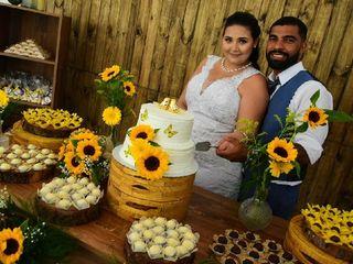 O casamento de Izabela e Júnior