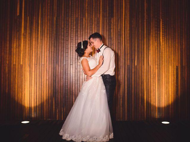 O casamento de Andressa e Airton