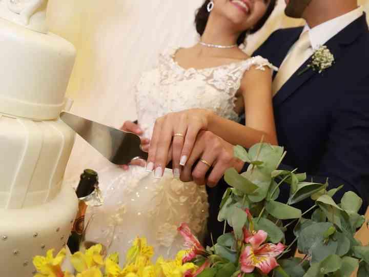 O casamento de Danielle e Aaron