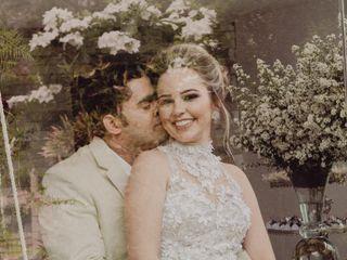 O casamento de Alyne e Anderson