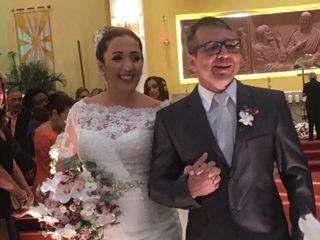 O casamento de Caroline  e Cristiano