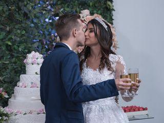 O casamento de Fatima  e Daniel