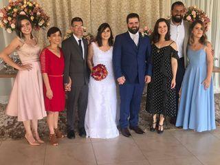 O casamento de Érida e Thales