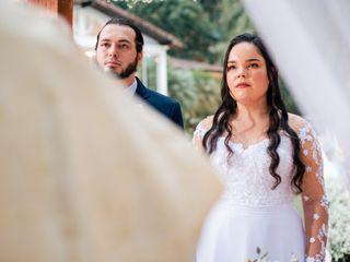O casamento de Isabela e Marcos