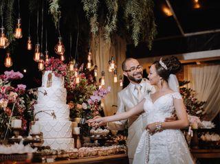 O casamento de Bruno e Chirley