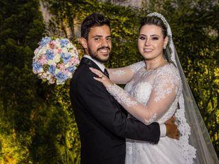 O casamento de Flavia e Gabriela