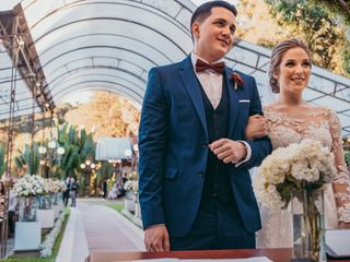 O casamento de Luana e Sergio