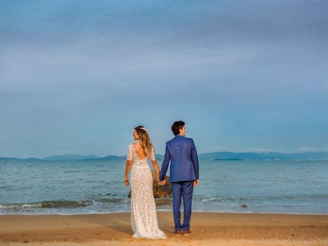 O casamento de Letícia e Kleber