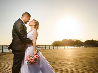 O casamento de Priscila e Victor
