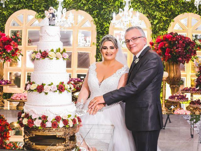 O casamento de Vaninha e Rogério