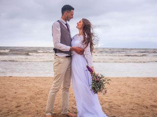 O casamento de Bruna e Dan