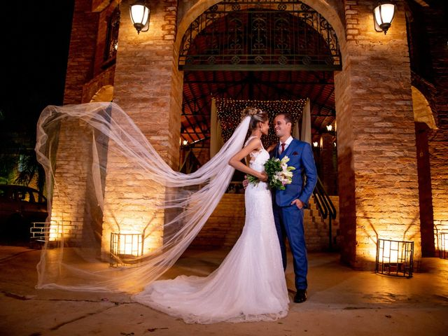 O casamento de Isa e Marlon