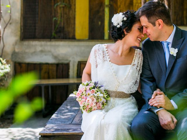 O casamento de Laura e Paulo