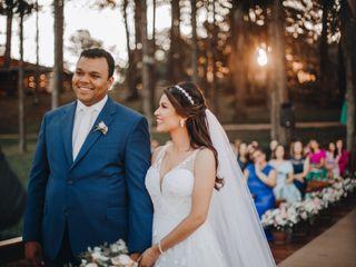 O casamento de Jordana e Samuel