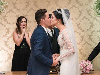O casamento de Glória e Carlito