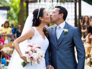 O casamento de Jane e Silvio