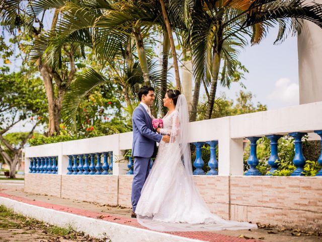 O casamento de Evellyn e Israel
