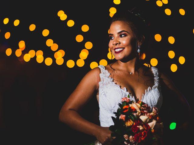 O casamento de Aline e Junior