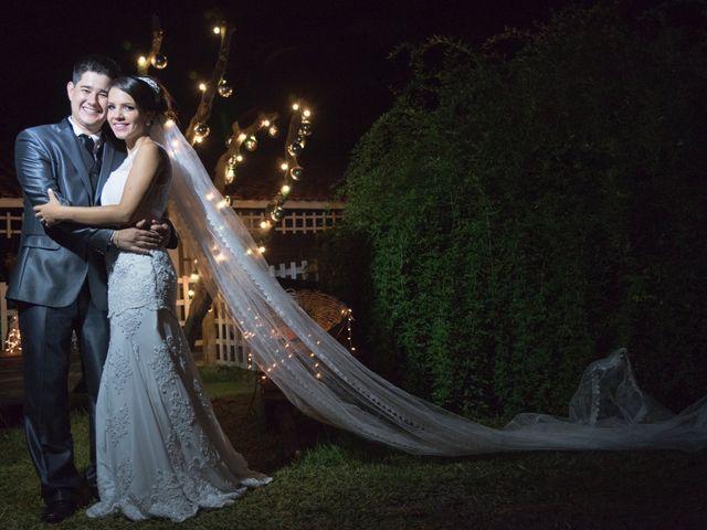 O casamento de Izabela e Kleverson