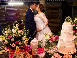 O casamento de Isabella e Bento