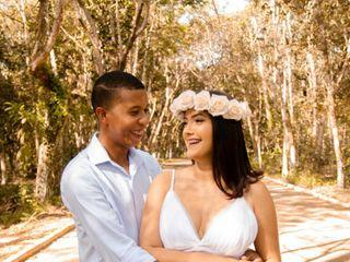 O casamento de Emily e Adalberto