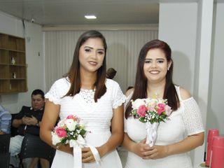 O casamento de Michele e Nadma 3